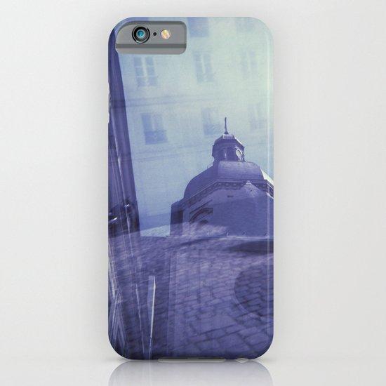 Holga Double Exposure: Eglise Saint-Paul-Saint-Louis, Paris  iPhone & iPod Case