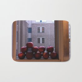 Sweet Delicious Awesome Apples  Bath Mat