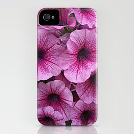 PETUNIAS iPhone Case