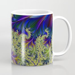 Feather Brocade #2 Coffee Mug