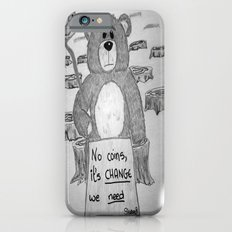 Sad bear 2 Slim Case iPhone 6s