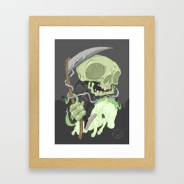 The Four Horsemen of the Apocalypse (Green) Framed Art Print