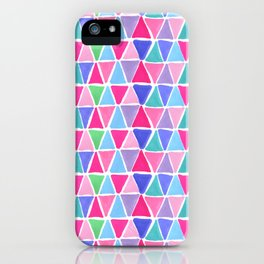Pretty triangles iPhone Case