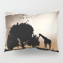 Nature silhouettes Pillow Sham