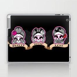 Wise Skulls Laptop & iPad Skin