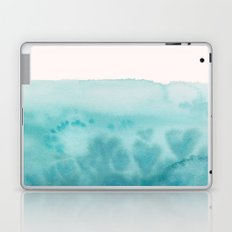 Waves of Love Aqua Laptop & iPad Skin