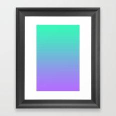 iOS7 Framed Art Print