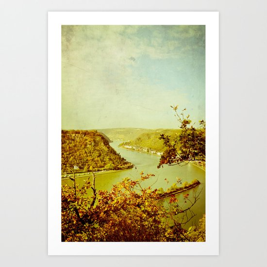 Romantic Rhine I Art Print