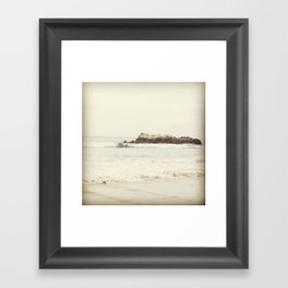 Salt + Sea Framed Art Print