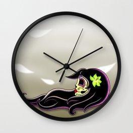 In the Wind - Day of the Dead Calaverita Wall Clock