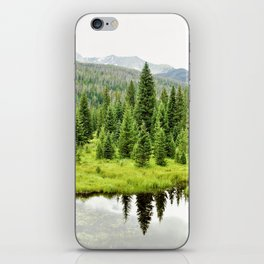 Rocky Mountain Beaver Pond by Reay of Light iPhone Skin