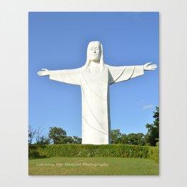 Christ of the Ozarks Canvas Print
