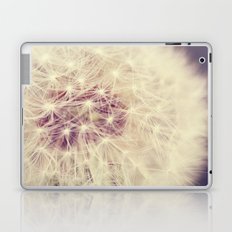 Soft White Dandelion Laptop & iPad Skin