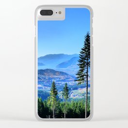 Squamish BC, Canada Clear iPhone Case