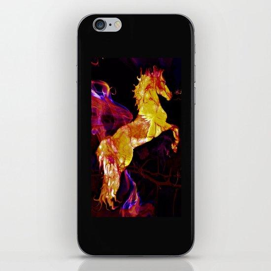 HORSE - War horse iPhone & iPod Skin