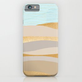 Golden Sands iPhone Case