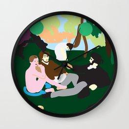 Manet Wall Clock