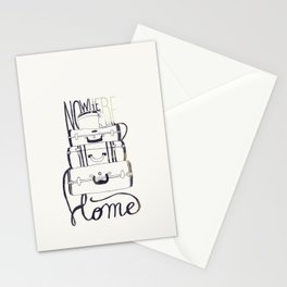 Nowhere Home Stationery Cards