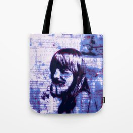 Mitchell Moves Leave Her Hit Blue Tote Bag
