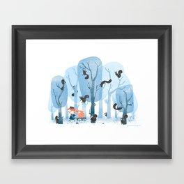 Squinjas! Framed Art Print