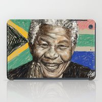 mandela iPad Cases featuring MANDELA by Stan Kwong