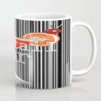 bar Mugs featuring Cocktail Bar by Sartoris ART