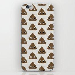 Poo Pattern iPhone Skin
