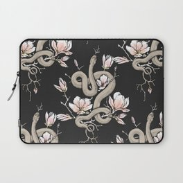 Magnolia and Serpent Laptop Sleeve