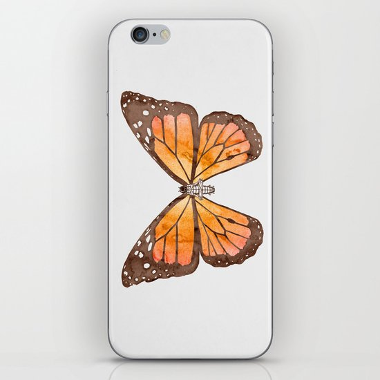 Caterpillar's nirvana iPhone & iPod Skin