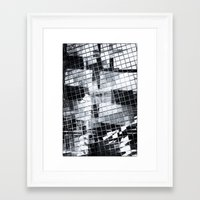 glass Framed Art Prints featuring Glass by SilverSatellite