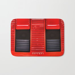 Ferrari hood Bath Mat