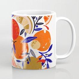 Fresh Citrus Mesh – White Coffee Mug