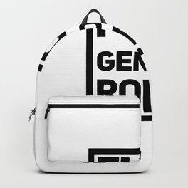 Fuck Gender Roles | feminism gift idea Backpack