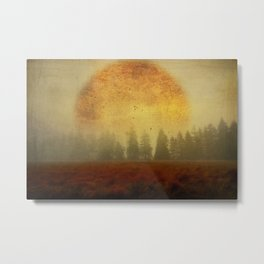 Fire of Life Metal Print