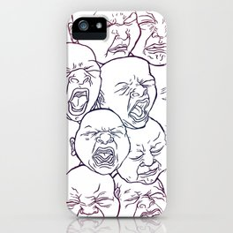 Lovely Babies iPhone Case