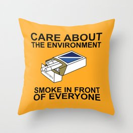 Environment Throw Pillow