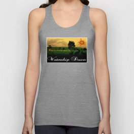 Watership Down Unisex Tank Top
