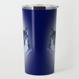 Season of the Wolf - Duet in Sapphire Travel Mug
