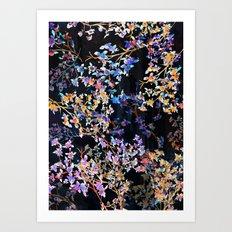 Spring Blossom Dark  Art Print