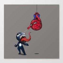 Spidey & Venom Canvas Print
