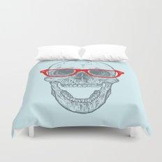 Smart-Happy Skully Duvet Cover