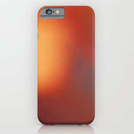 Abstract noise red iPhone Case