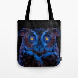 Moon Eyed Owl Tote Bag