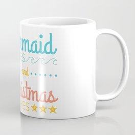 Mermaid Kisses and Christmas Wishes Coffee Mug