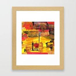 Abstract Street Framed Art Print