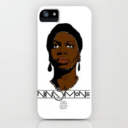 nina iPhone Case