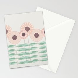Blushing garden Stationery Cards