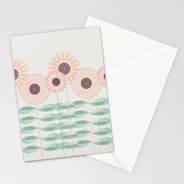 Blushing garden Stationery Cards