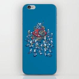 Blue Horde iPhone Skin