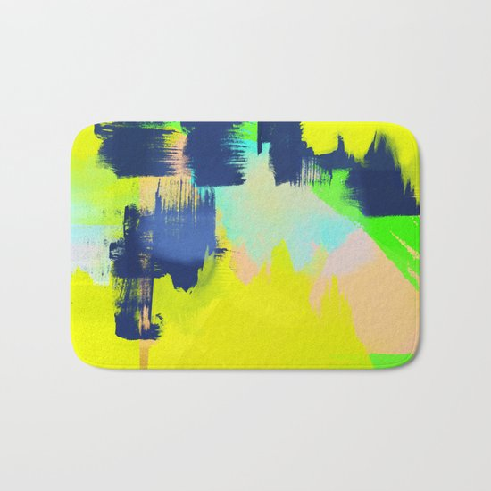 Yellow and More Bath Mat